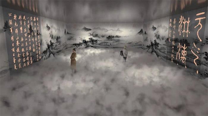 故宫《石渠宝笈》绘画数字科技展即将在西安幸福林带环球港开展